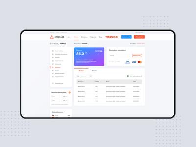 Limak.Az delivery company web design