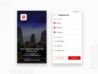 News portal application design