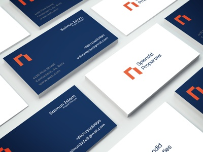 Business Card business card photoshop logo business logo typography vector minimal branding illustration design