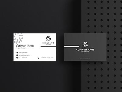 Business Card business card logodesign business logo typography vector minimal branding illustration design