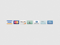 Payment Icons icons credit cards