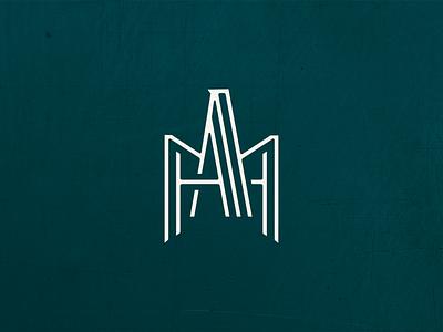 AMH monogram monogram