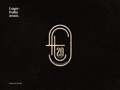 #JFT20 vector logo design branding calligraphy illustration typography