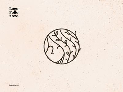 Evan Pharma design vector dribbble best shot branding logo illustration