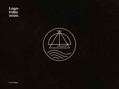 Louvre Egypt identity idenity dribbble best shot icon vector branding logo design illustration