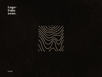 Woodify dribble identity idenity design dribbble best shot vector logo branding typography illustration