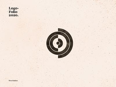 Nova Fashion calligraphy identity dribble idenity vector branding logo typography design illustration