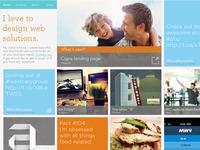 Website redesign - still rough