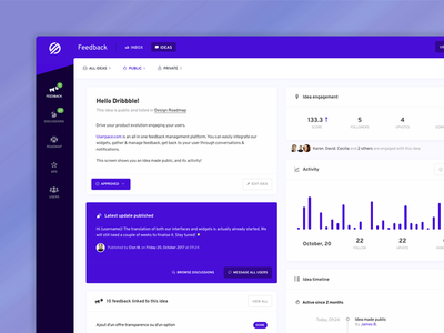 Userpace – User Feedback Dashboard ui community dashboard feedback