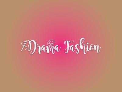 Drama Fashion | Minimalist Logo branding design graphic design fashion logo signature logo typography minimal logo minimalist logo logo design