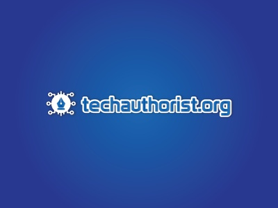 techauthorist.org typography logo design brand design signature logo minimalist logo technology logo author tech logo