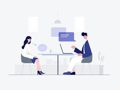 Psychological counseling psychological counseling art 小场景 design ui graphic design flat illustration illustrator