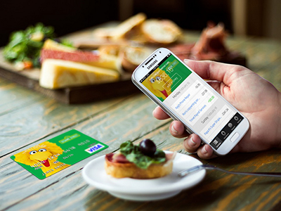 Using the app with your Card