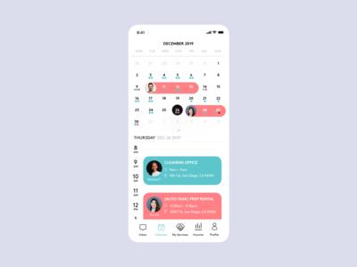 Multi-view calendar