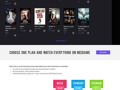 MediaMe - Film Card movie card film card batman vs superman batman superman media channel stream video website site web
