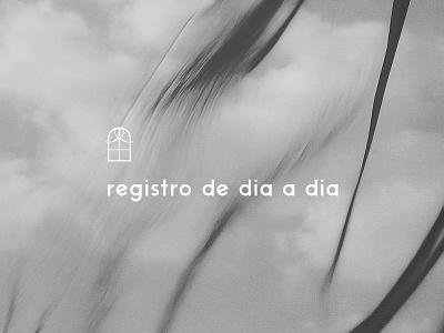 Logotype - Registro de dia a dia brand branding identity photography logotype logo