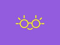 Sun | Glasses | Smile | Logo design