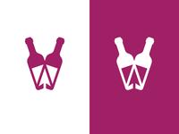 Wine | Mouse | Buy | Logo design
