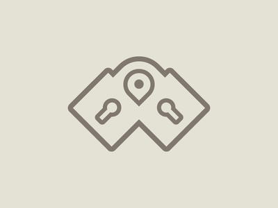 Pin   Locks   Logo design secure brand mark logo online website shop pin lock