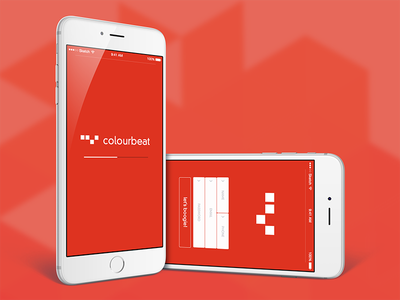 Colourbeat Mobile design ux mobile app ui