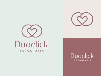 Duoclick - Logo Design Concept logolounge logoplace logosai logogrid logobrand minimallogo branding design logonew logoinspire logodesigner photography logo