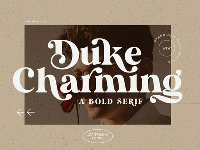 Duke Charming Serif Font fonts collection font resources elegant font display calligraphy serif typeface design professional logo lettering font design vintage retro sans serif fonts sans serif font sans serif serif fonts serif font serif