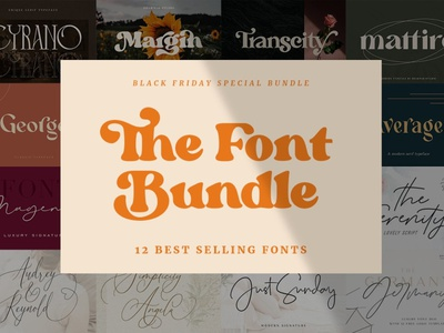Best Selling Bundle - Fonts Collection minimal font resources elegant display modern calligraphy calligraphy typeface typography logo lettering fonts font serif fonts serif font sans serif font sans serif design font collection font bundle fonts collection