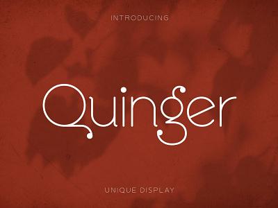Quinger Font professional handwritten handwriting fonts elegant calligraphy logo font resources display sans serif typeface minimal font minimalist design serif fonts serif font serif sans serif fonts sans serif font sans serif font