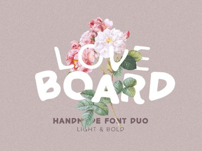 Love Board - Handmade Font retro vintage fonts retro font bold font love font love sans serif font handwriting font resources display design calligraphy fonts logo lettering handmade fonts font design fonts font handmade font handmade