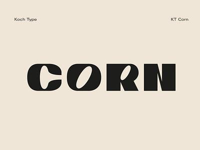 Corn | Koch Type typography fontstyle font design caps typeface caps sans serif font elegant sans serif logo font resources display design fonts collection type art typedesign type design typeface fonts font type