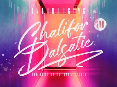 Chalifor Dalsatic SVG Font brush paint font brush font lettering typeface typography display font display elegant fonts modern font script fonts.com fontstyle fontself fonts collection fonts font svg fonts svg font svg