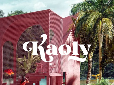 Kaoly - Beautiful Display Font luxury display font stylish magazine fashion display advertising branding logo lettering typography typeface minimalist unique serif sans serif elegant modern classy fonts