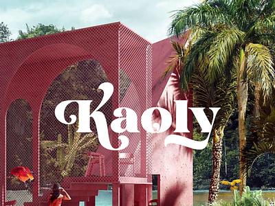 Kaoly - Beautiful Display Font luxury display font stylish magazine fashion display advertising branding logo lettering typography typeface minimalist unique serif sans serif elegant modern classy fonts
