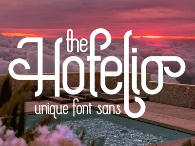 The Hotelio Display Font luxury display font stylish magazine fashion display advertising branding logo lettering typography typeface minimalist unique serif sans serif elegant modern classy fonts