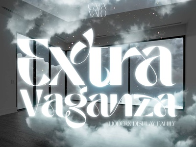 Catavalo Display Font luxury display font stylish magazine fashion display advertising branding logo lettering typography typeface minimalist unique serif sans serif elegant modern classy fonts