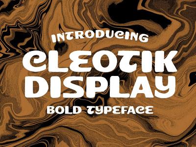 Cleotik - Vintage Display Font luxury display font stylish magazine fashion display advertising branding logo lettering typography typeface minimalist unique serif sans serif elegant modern classy fonts