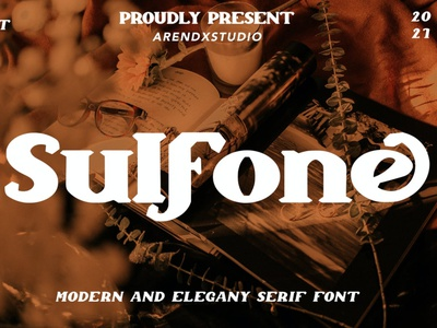 Sulfone - Modern And Elegant Serif Font luxury display font stylish magazine fashion display advertising branding logo lettering typography typeface minimalist unique serif sans serif elegant modern classy fonts