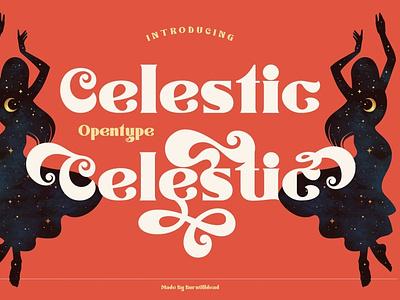 Celestic Display Font luxury display font stylish magazine fashion display advertising branding logo lettering typography typeface minimalist unique serif sans serif elegant modern classy fonts