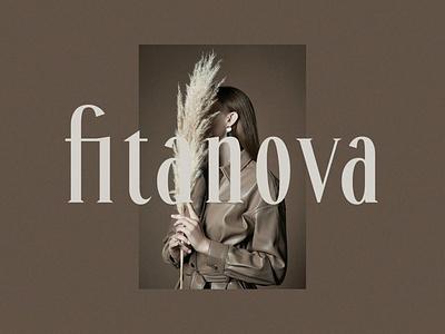 Fitanova - Classy Serif Font display font stylish magazine fashion display advertising branding logo lettering typography typeface minimalist unique serif sans serif elegant modern classy fonts font