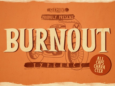 Burnout Vintage Font luxury display font stylish magazine fashion display advertising branding logo lettering typography typeface minimalist unique serif sans serif elegant modern classy fonts