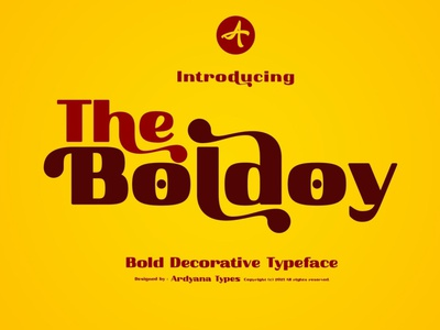 Boldoy - Decorative Typeface calligraphy display font magazine fashion display advertising branding logo lettering typography typeface minimalist unique serif sans serif elegant modern classy fonts font