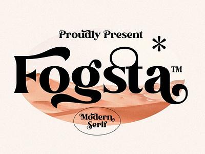 Fogsta Modern Serif Font stylish luxury display font magazine fashion display advertising branding logo lettering typography typeface minimalist unique serif sans serif elegant modern classy fonts