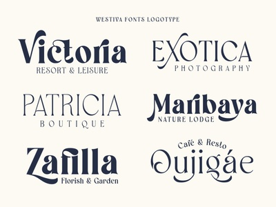 Westiva Fonts Family stylish fashion magazine fashoin display advertising branding logo lettering typography typeface minimalist unique serif sans serif elegant modern classy fonts font