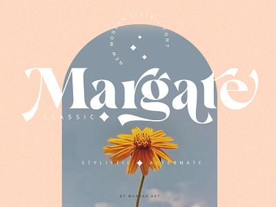 Margate | Modern Classic Font display font stylish magazine fashion display advertising branding logo lettering typography typeface minimalist unique serif sans serif elegant modern classy fonts font