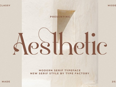 Aestetic – Modern Serif Font magazine fashion display advertising branding logo lettering typography typeface minimalist unique serif sans serif elegant modern classy fonts font aesthetic font aesthetic