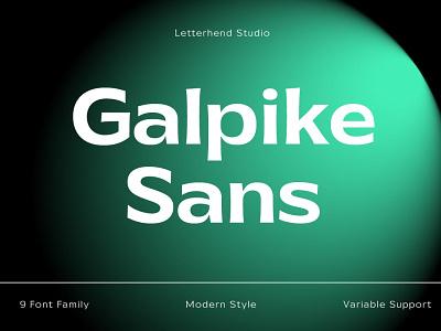 Galpike Sans Font logo luxury display font stylish magazine fashion display advertising branding lettering typography typeface minimalist unique serif sans serif elegant modern classy fonts