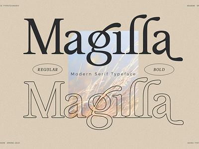 Magilla - Premium Serif Font serif lettering sans serif typeface typography beauty elegant classy vintage modern web font wedding display logo fonts design premium premium font premium fonts