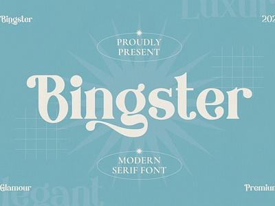 Bringster - Modern Premium Font advertising sans serif font invitation typography branding magazine logo luxury elegant header headline fat stylish classy display bold modern premium fonts premium font premium