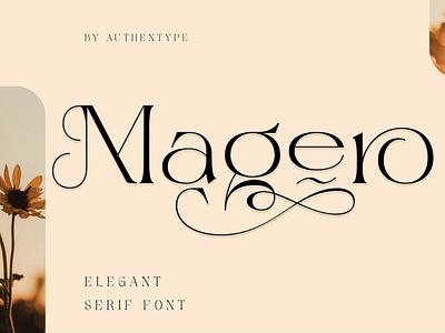 Magero Elegant Premium Font lettering sans serif fonts logo display curly christmas decorative fantasy valentine headline font romantic invitation wedding serif modern luxury fashion elegant