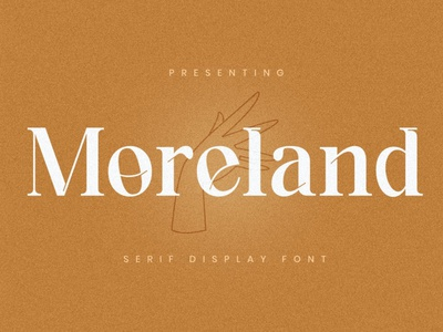 Moreland - Premium Font sans serif fonts premium fonts premium font premium display canva branding boutique beautiful christmas wedding modern logo card invitation design cover classy beauty